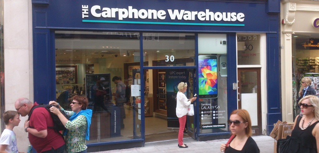 CPW Grafton St Dublin